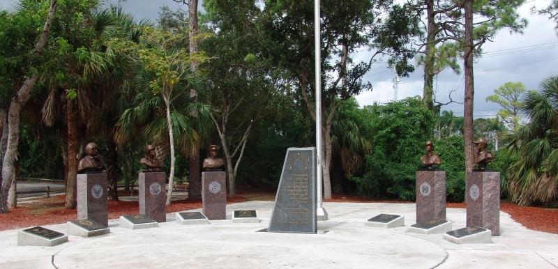 Untitled by Harrison Covington - Veterans Park, Boca Raton