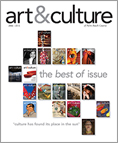art&culture magazine cover - Best Of issue