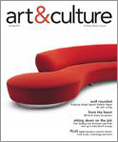 art&culture magazine cover - Spring 2012