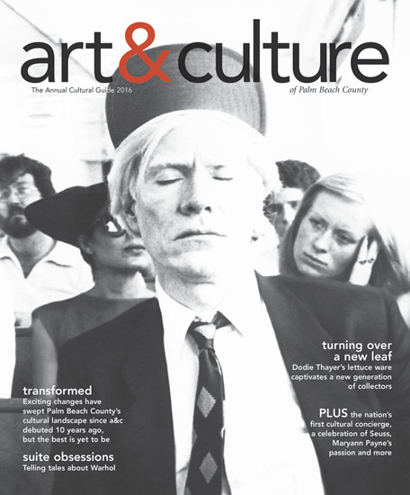 art&culture magazine winter 2016 cover